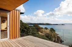 Deck. New Zealand.
