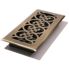 Decor Grates SPH214A 2Inch by 14Inch Scroll Floor Register Antique Brass Color Antique brass Model SPH214A *** See this great product.