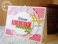 Always Playing with Paper: Welcome Baby {SugarPea Designs Colour Challenge}