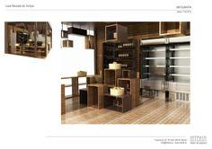 Proyecto de Interiorismo. Tienda Gourmet, Madrid