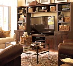 1000 images about entertainment center decor ideas on pinterest pottery barn entertainment. Black Bedroom Furniture Sets. Home Design Ideas