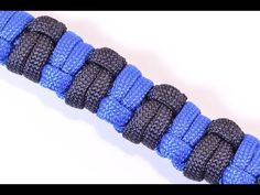"How to Make the ""Slithering Snake"" Paracord Survival Bracelet - BoredParacord - YouTube"
