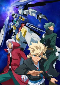 Mobile Suit Gundam AGE - 2nd Generation