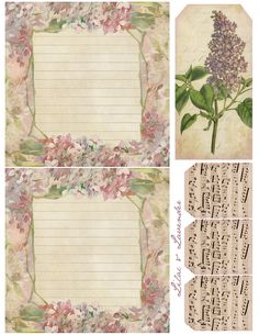 Lilac & Lavender: Stationery