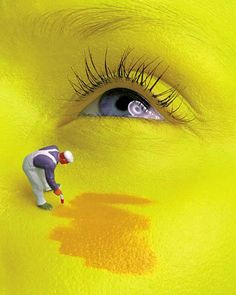 Arte digital: Caras pintadas