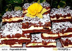 Irský sen s tvarohem recept - TopRecepty.cz Hungarian Cake, Oreo Cupcakes, 20 Min, Pavlova, Tiramisu, Sweet Tooth, Cheesecake, Sweets, Baking