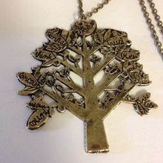 Big Tree Shape Necklace Brand new. Please take a look at the pictures and let me know if you have any question. Do ask for bundles  Price is firm(No pp/trades) thanks for looking! Jewelry Necklaces