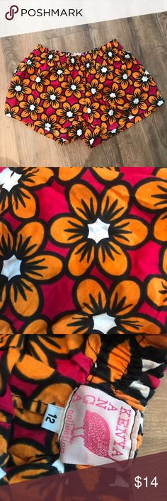 {Kenya Designs Boxer Shorts} Super cute. EUC. Fit like a women's small. Kenya Designs Intimates & Sleepwear