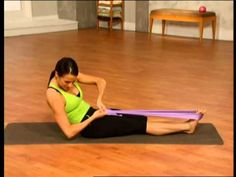 (60) Pilates-ABDOMEN - YouTube
