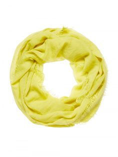 Sussan Yellow Loop Scarf