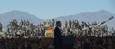 Obama speech to soldiers met with silence.  No surprise here...he's never done anything to make their lives better.