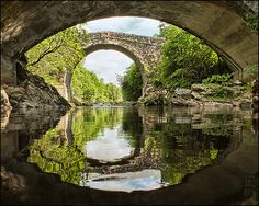 Bridge with a beautiful reflection - This is absolutely beautiful...travel here with a discount...http://LIfeIsNow.LifeStartsAt21.com/lcp2