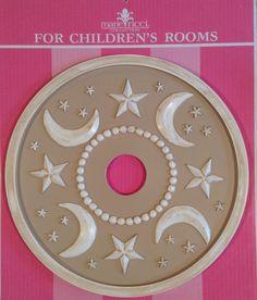 Nursery Ceiling Medallions by Marie Ricci