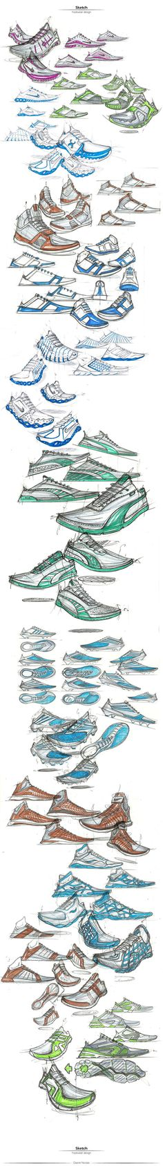 Footwear Design: Hand Sketch on Behance