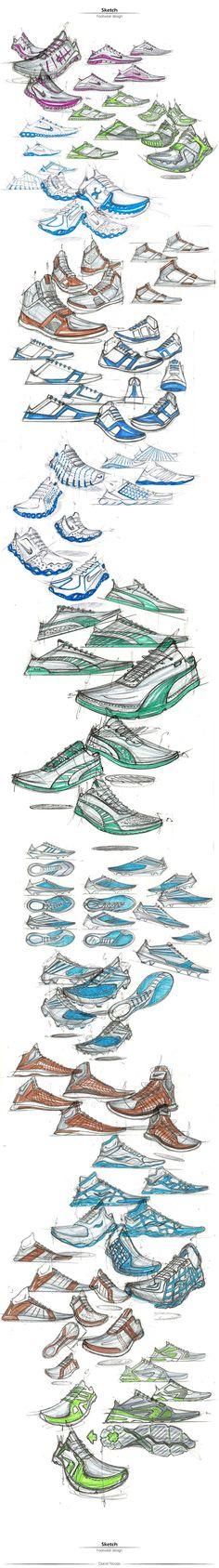 Footwear Design: Hand Sketch on Behance