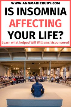 This post is sponsored. Is insomnia affecting your life? Find out what helped Will Williams. Sleep Better Tips, Spiritual Inspiration Quotes, Peace And Harmony, Blog Topics, Yoga Lifestyle, Stressed Out, Humility, Finding Peace, College Life
