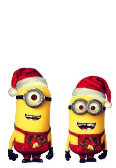 The minions wish you a merry Christmas!!!!