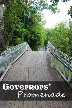 Take a Stroll Down the Governors Promenade in Quebec City! - Justin Plus Lauren