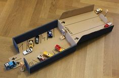 Learning to count parking garage with racing ramp- Zählen lernen Parkgarage mit Rennrampe Learning to count parking garage with racing ramp - The post Learning to count parking garage with racing ramp- Zählen lernen Parkgarage m appeared first on WMN Diy. Toddler Learning Activities, Infant Activities, Preschool Activities, Fun Learning, Games For Kids, Diy For Kids, Crafts For Kids, Toddler Fun, Toddler Crafts
