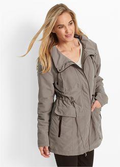 Parka-Jacke jeansblau - bpc bonprix collection jetzt im Online Shop von bonprix.de ab ? 49,99 bestellen. Mit Tunnelzug in der Taille, mit Rei�verschluss zu ...