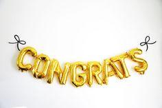 Congrats balloon gra