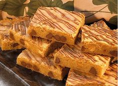 If you like peanut butter and milk chocolate, you'll love this recipe for Peanut Butter and Milk Chocolate Chip Blondies.