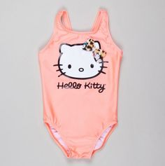 Infant Hello Kitty One Piece with 3D Bow - Baby Swim - Events