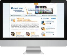 Dla naszego klienta z Francji zrealizowaliśmy nowy serwis internetowy.   Zapraszamy do obejrzenia rezultatów na www.opinea.com. #portal #design #stronainternetowa