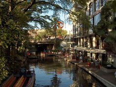 River Walk, San Antonio, Texas - I love the River Walk! I can never understand when people don't have the same experience. Sounds silly, but I think the River Walk is a little magical.