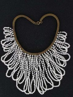 bf42ce1fb022 Miriam Haskell Necklace Vintage Costume Jewelry