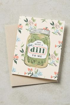 Slide View: 1: Great Dill Card