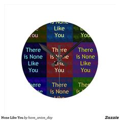 #None #Like #You #Clock #Hakuna #Matata #Clock #funny #penguin #saying, #steal #my #sanity, #with #quote #Cute #Quotes #Clocks