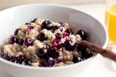 Blueberry Coconut Oatmeal Pudding — Recipes for Health - NYTimes.com