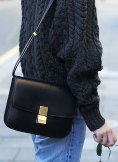 The Best Way to Wear Céline Classic Box Bag, ultimate guide to the hottest fashion handbags style inspiration from around the world. Celine Classic Box, Celine Box, Fashion Bags, Fashion Accessories, Fashion Outfits, Womens Fashion, Fashion Fashion, Runway Fashion, Fashion Trends
