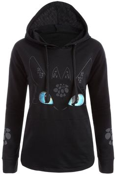 $14.70 How to Train Your Dragon Night Fury Toothless Hoodie