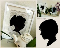 tableau / ombre / decoration Decoration, Diy, Wall Art, Silhouettes, Html, Frame, Home Decor, World Animals, Frames