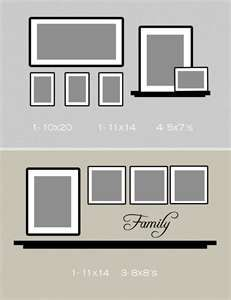 Picture wall layout |Pinned from PinTo for iPad|