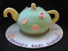 High Tea Baby Shower By miscue on CakeCentral.com