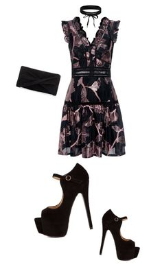 """""""party!"""" by belann ❤ liked on Polyvore featuring Rebecca Taylor, Reiss and Boohoo"""