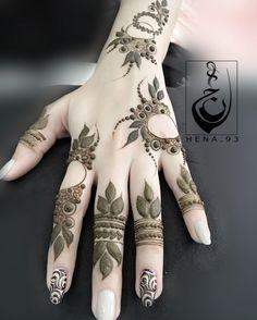 Khafif Mehndi Design, Mehndi Designs 2018, Modern Mehndi Designs, Mehndi Design Pictures, Mehndi Designs For Girls, Beautiful Henna Designs, Henna Flower Designs, Henna Tattoo Designs Simple, Finger Henna Designs