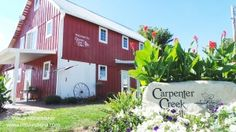 Carpenter Creek Cellars #Winery in Jordan, #Indiana -- Peaceful country, Northwest Indiana property that sits inside a renovated #barn!