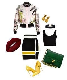 Sin título #58 by lzz33 on Polyvore featuring polyvore, fashion, style, Calvin Klein Collection, Roberto Cavalli, River Island, Dolce&Gabbana, Chanel, Lime Crime and clothing