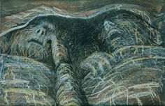 Henry Moore, Two Sleepers, 1941, Crayon, chalk and wash on paper, |Pallant House Gallery (Hussey Bequest, Chichester District Council, 1985) © The Estate of the Artist