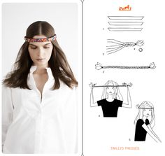 How to tie a scarf the Hermes way - Twilly Tresses Ways To Wear A Scarf, How To Wear Scarves, Scarf Knots, Head Scarf Styles, Designer Scarves, Looks Vintage, Square Scarf, Silk Scarves, Festival Fashion