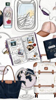 19 Trendy travel design layout vacation scrapbook in 2020 Travel Wallpaper, Photo Wallpaper, Mobile Wallpaper, Peach Wallpaper, Screen Wallpaper, Wallpapers Tumblr, Cute Wallpapers, Wallpaper Wallpapers, Vacation Scrapbook