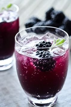 Blackberry & Mint fruit infusing water recipe
