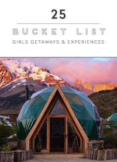 """Gather up your gypsetting babes for these 25 once-in-a-lifetime experiences, including a slumber party in highest treehouse in the world!"""