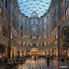 In the old parts of Stockholm the wellknown Sturekvarteret will will go through a major restoration. The 100 year old facades will be restorated and the inside will be modernized to meet the standards of today in retail, office spaces and residential.