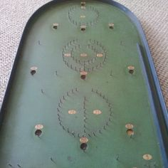 Vintage Corinthian 21T Tournament Board Wooden Bagatelle Game | eBay