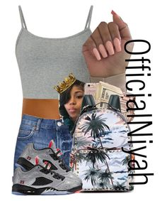 """""""Got This Chick I Call Her Lola """" by officialniyah on Polyvore featuring Topshop, Michael Kors, Valentino and Seletti"""